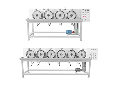 GE series four stainless steel temperature control color drum